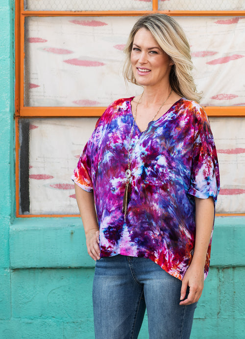 Easy Rayon Shirt in Wonder - Top - Dyetology