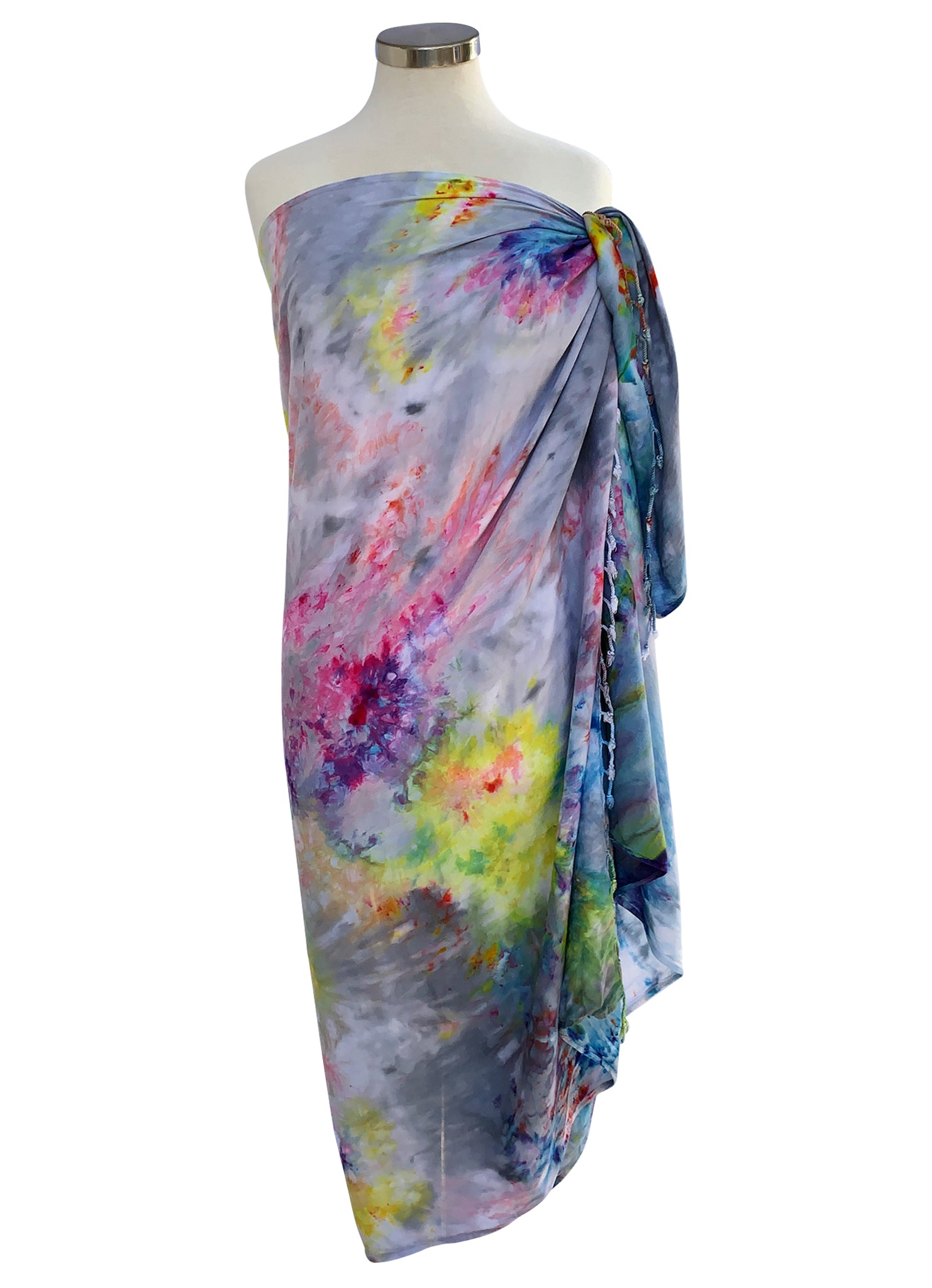 Blanket-Sarong Scarf in Candy Land - Blanket-Sarong Scarf - Dyetology