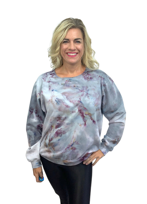 Hand Dyed Perfect Sweatshirt in Whisper - Limited Release - Top - Dyetology