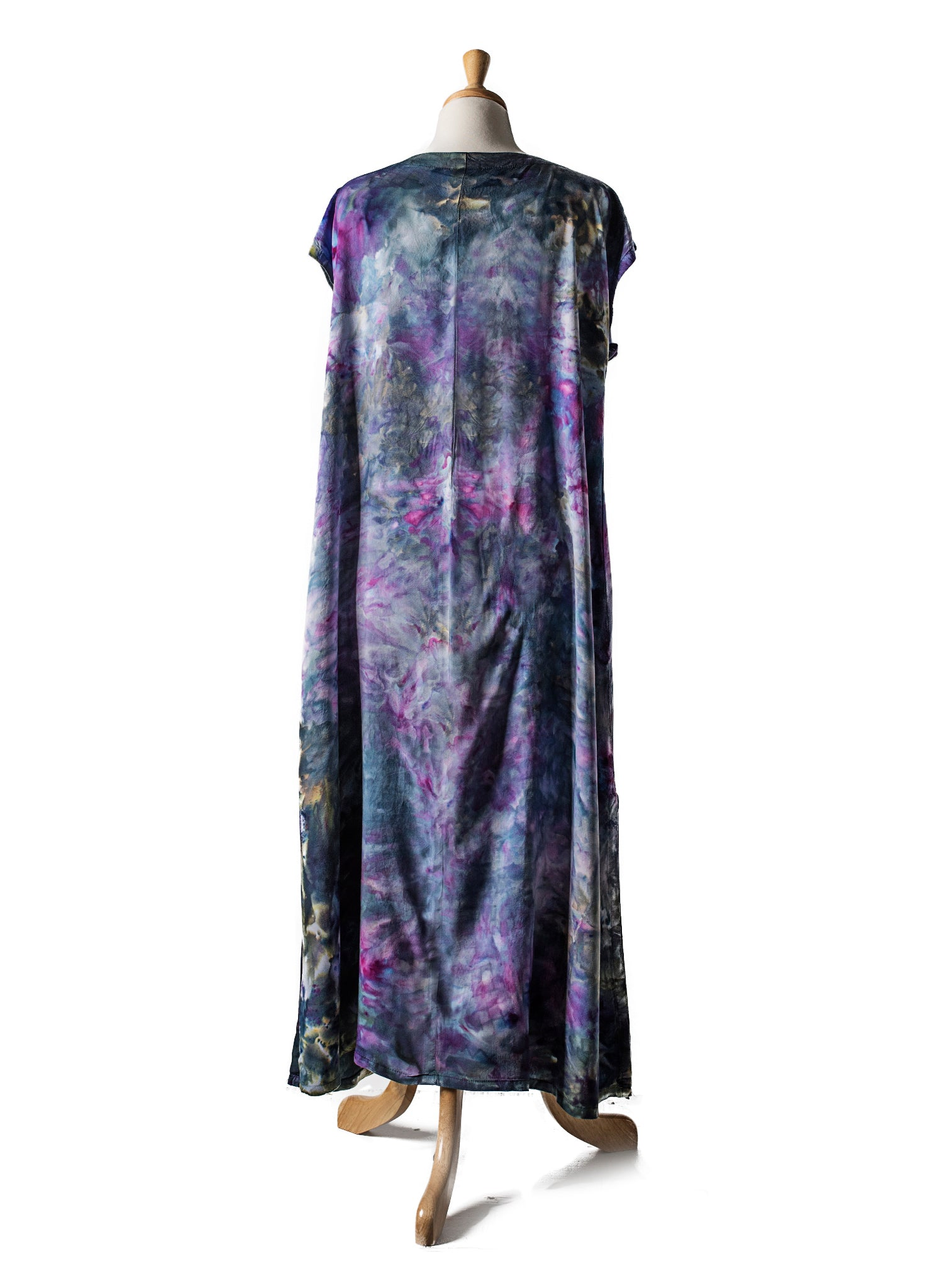 Easy Maxi Dress in Lilac Storm - Dress - Dyetology