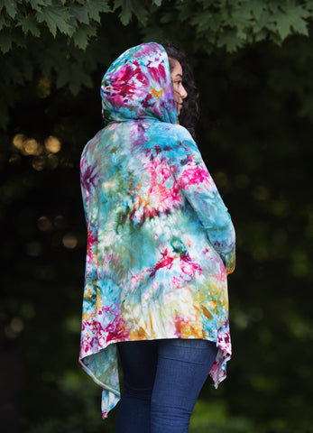 5 in 1 Poncho in Woodland Camo