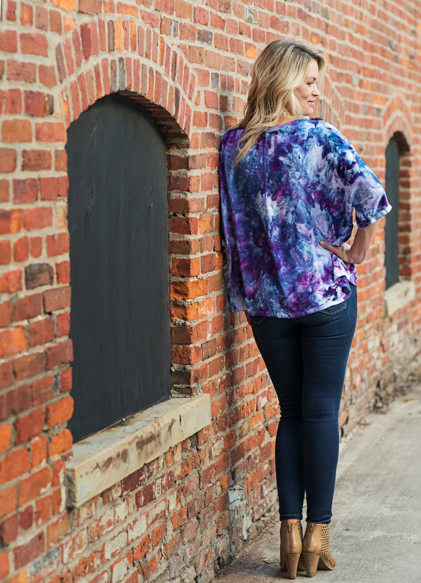 Easy Rayon Shirt in Perfect Purple - Top - Dyetology