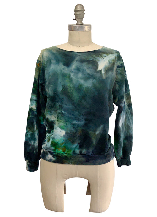 Perfect Sweatshirt in Woodland Camo - Limited Release