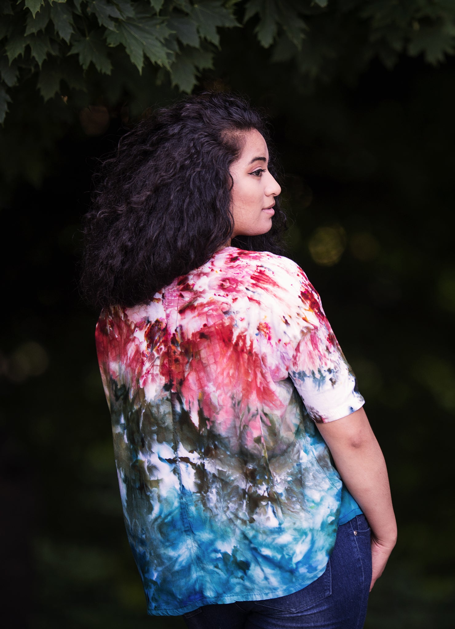Easy Rayon Shirt in Roots - Top - Dyetology