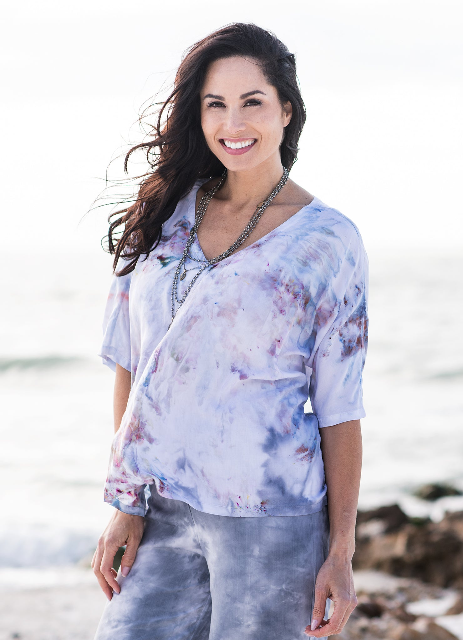 Easy Rayon Shirt in Whisper - Top - Dyetology
