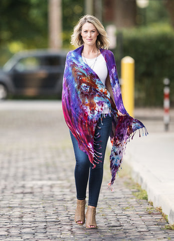 A Night Out Rayon Shawl Scarf