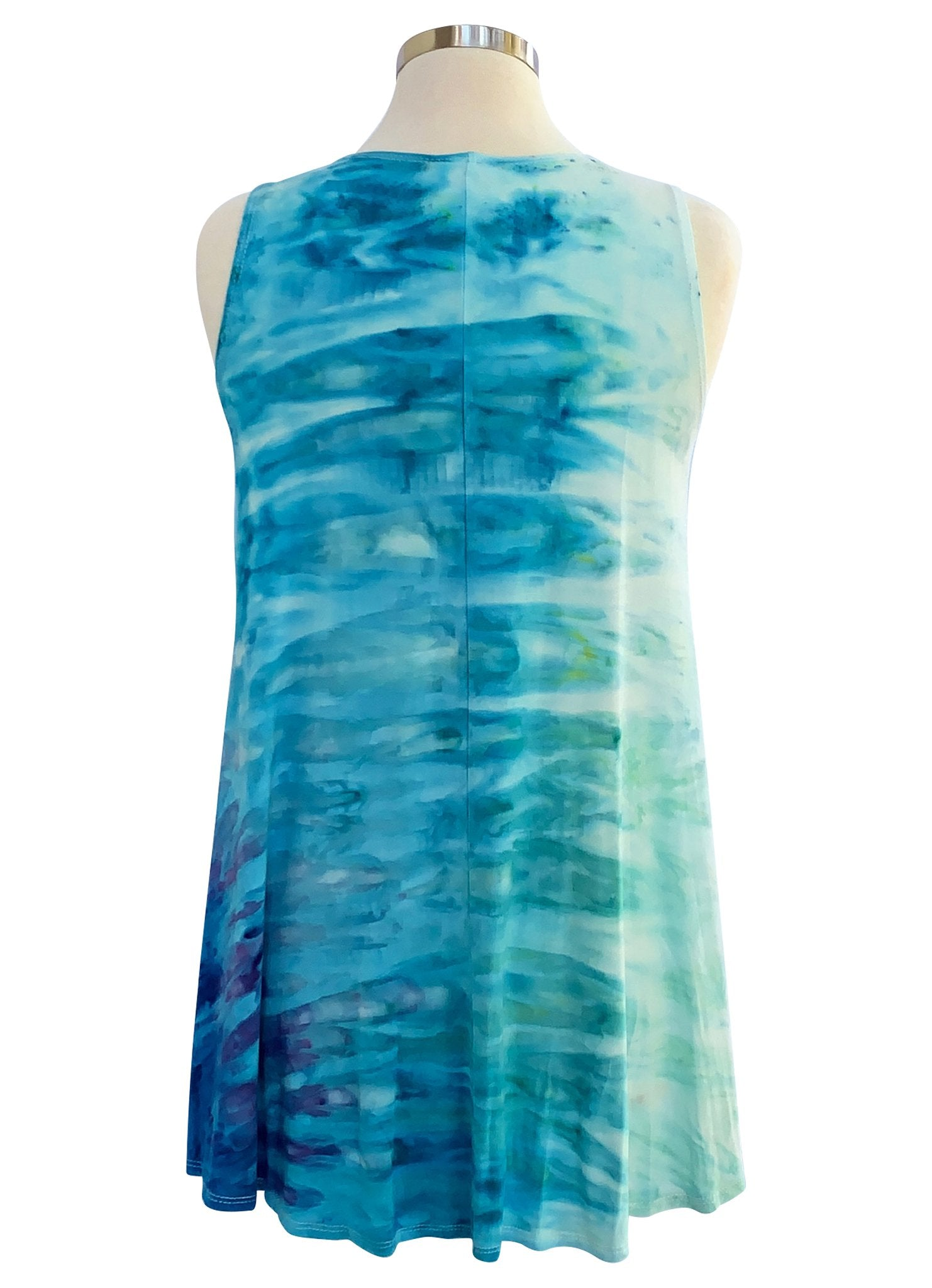 A-Line Tunic Tank in Bahama Mama - Top - Dyetology