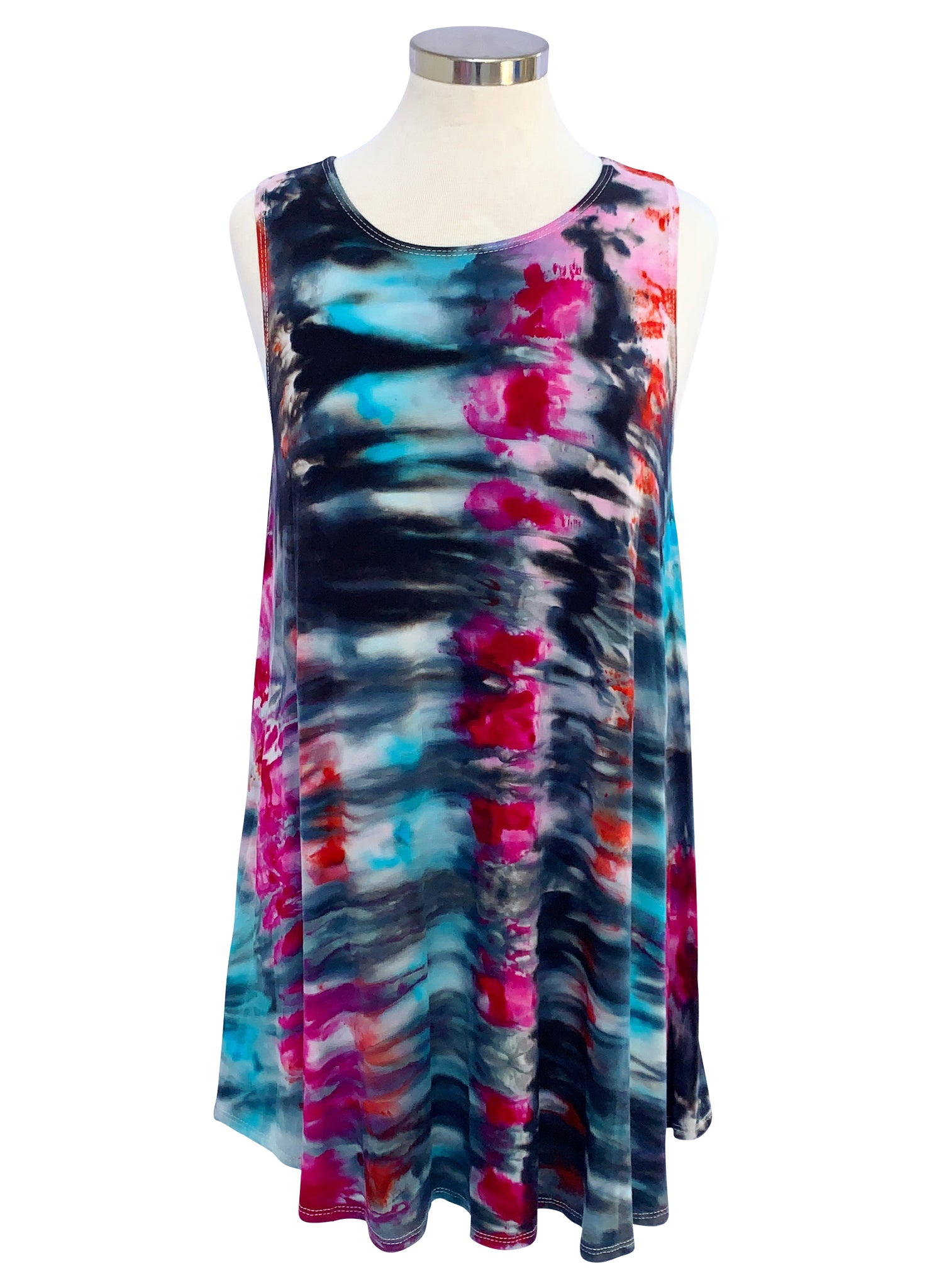 A-Line Tunic Tank in Cosmic - Top - Dyetology