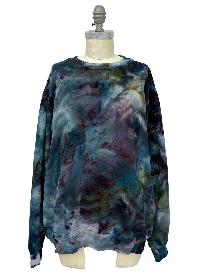 Hand Dyed Perfect Sweatshirt in A Night Out - Limited Release - Dyetology
