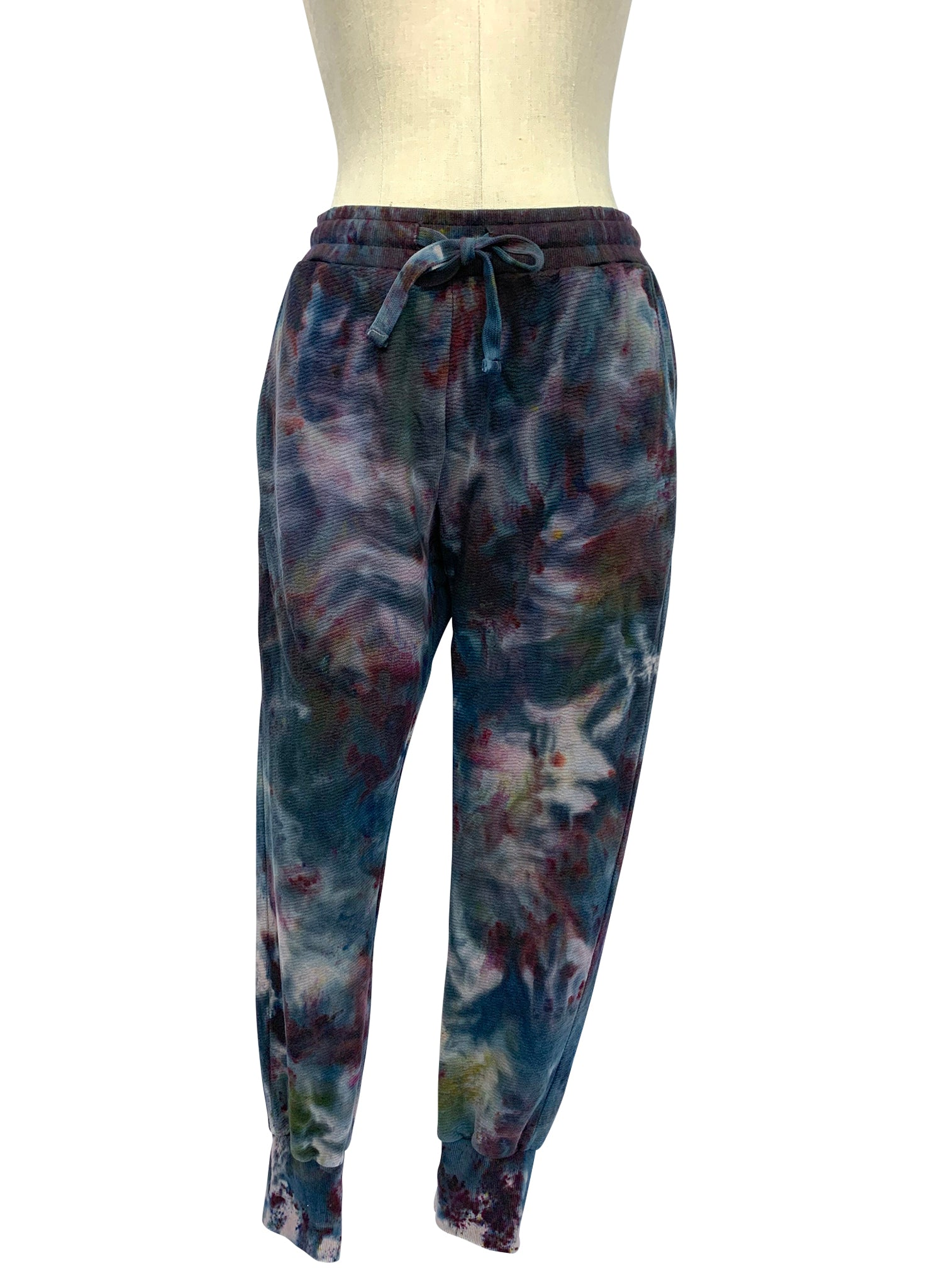 "Hand Dyed Perfect Cotton Joggers - in ""A Night Out"" - Dyetology"
