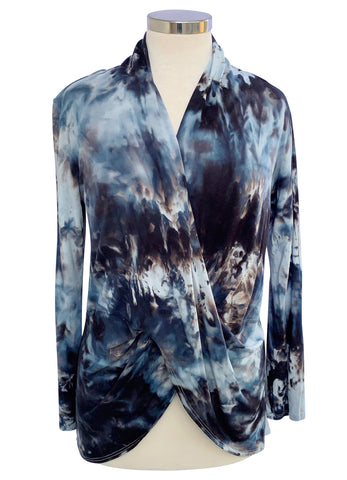 Easy Rayon Shirt in Flamingo