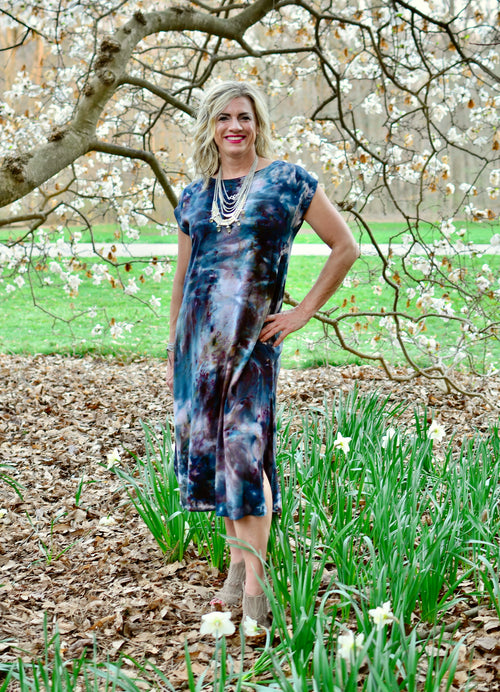 Easy Maxi Dress in A Night Out - Dyetology