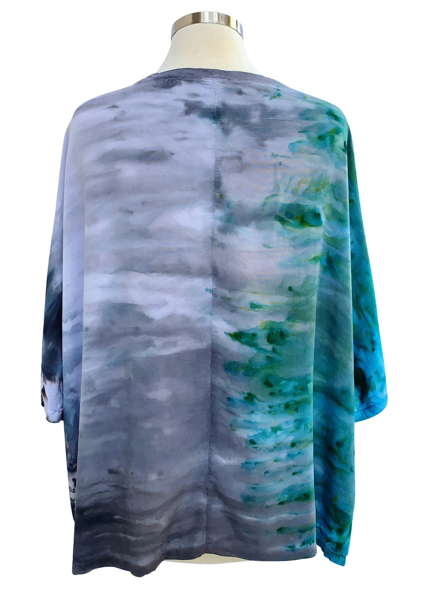 Easy Rayon Shirt in Dolphin - Top - Dyetology