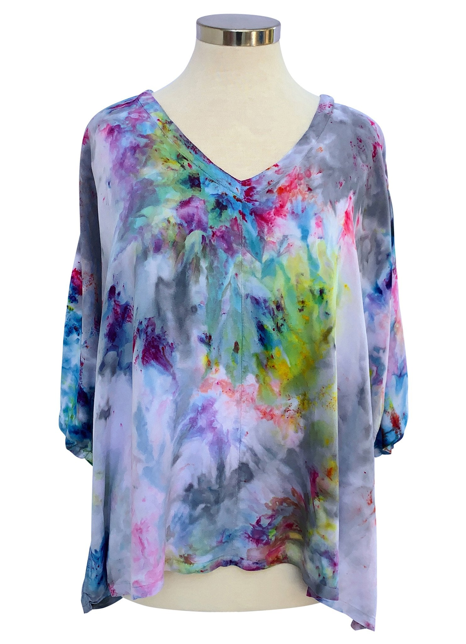 Easy Rayon Shirt in Candy Land - Top - Dyetology