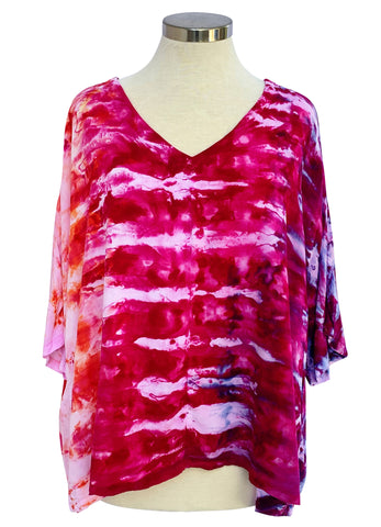 Easy Rayon Shirt in Strawberry Fields