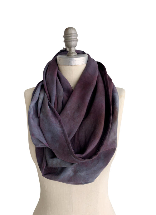 Special Edition: Infinity Scarf in Storm -  - Dyetology