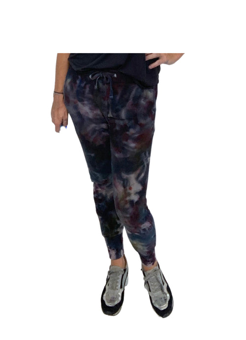 "Hand Dyed Perfect Cotton Joggers - in ""A Night Out"" - Bottoms - Dyetology"