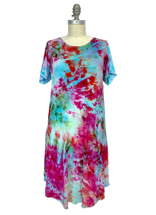 The Perfect Short Sleeve Dress in Key West - Dyetology
