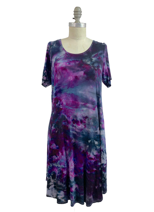 The Perfect Short Sleeve Dress in Lovely Lilac - Dyetology