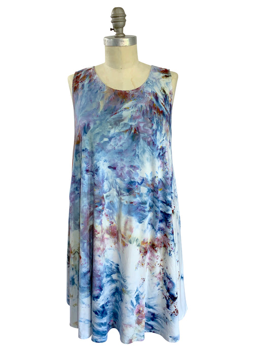 A-Line Tunic Tank in Meadow - Top - Dyetology