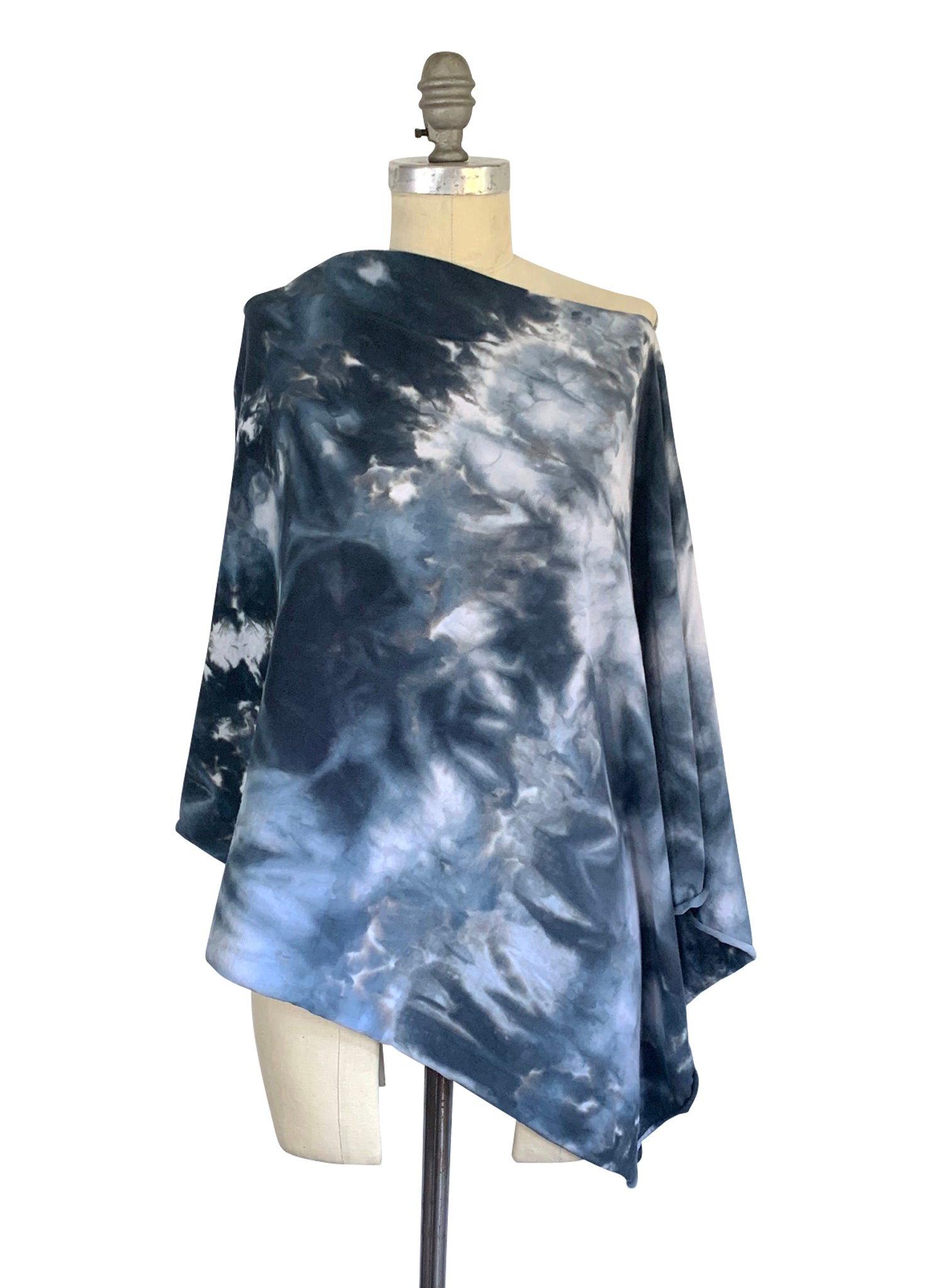 5 in 1 Poncho in Moon Stone - Top - Dyetology