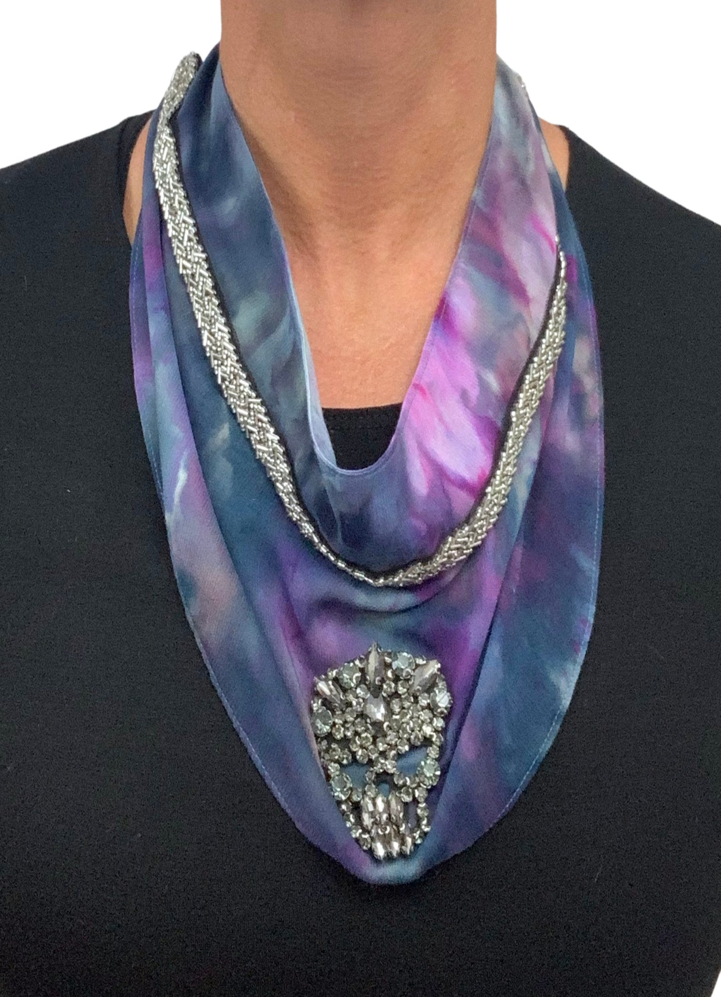 Scarf Necklace in