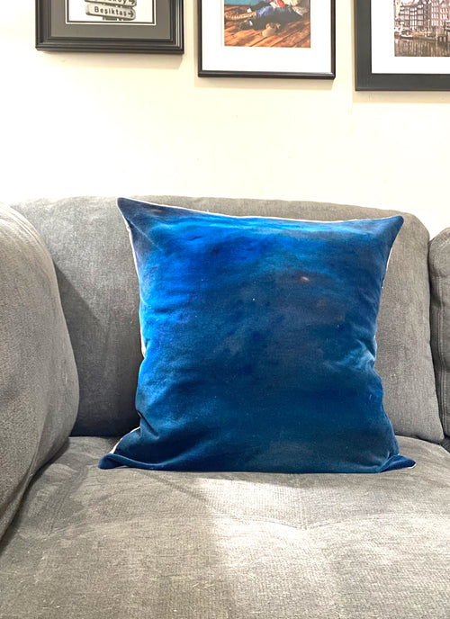 Hand-dyed Cotton Velvet Pillow Covers - Dyetology