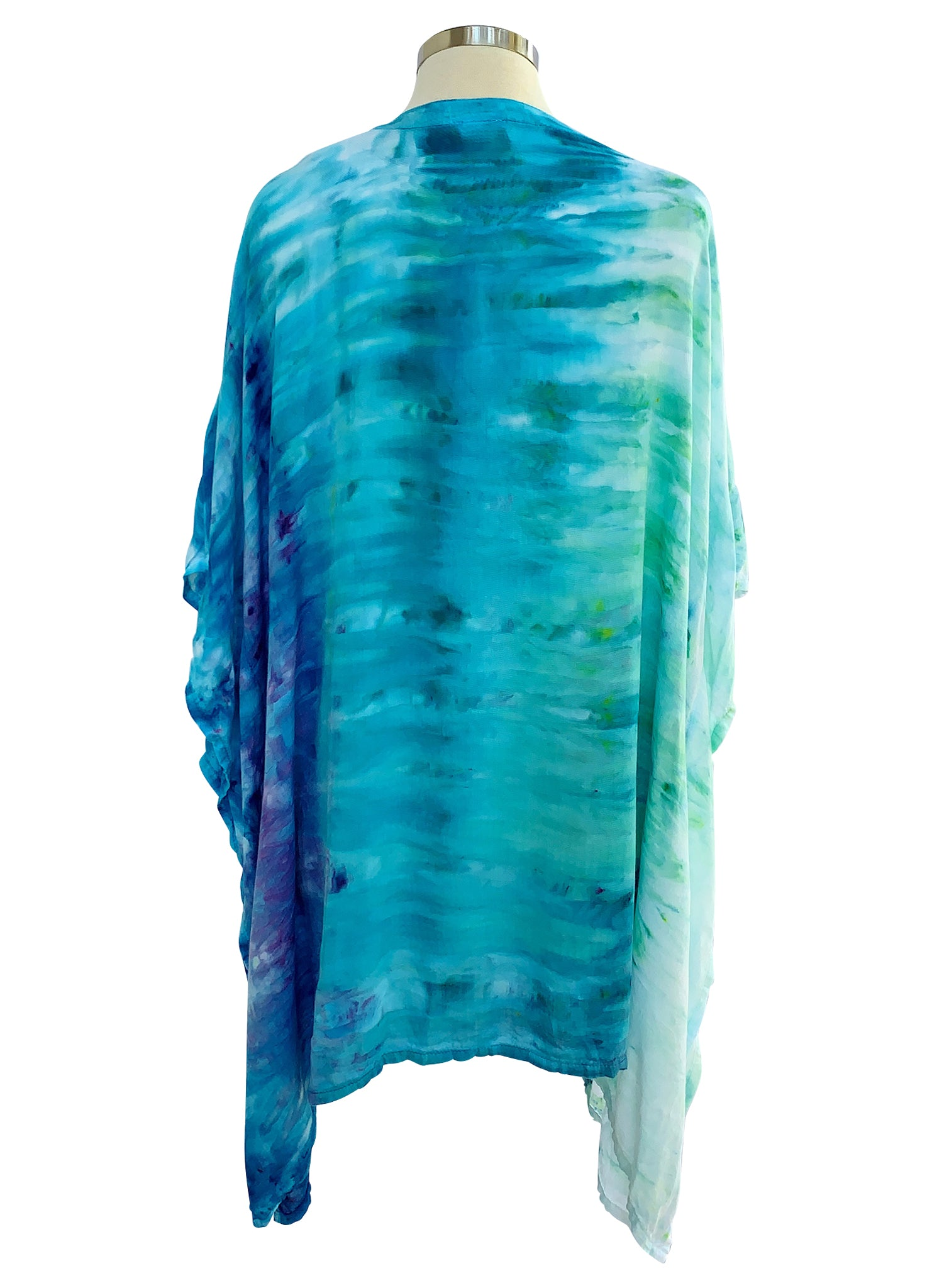 Easy V Neck Tunic in Bahama Mama - Top - Dyetology