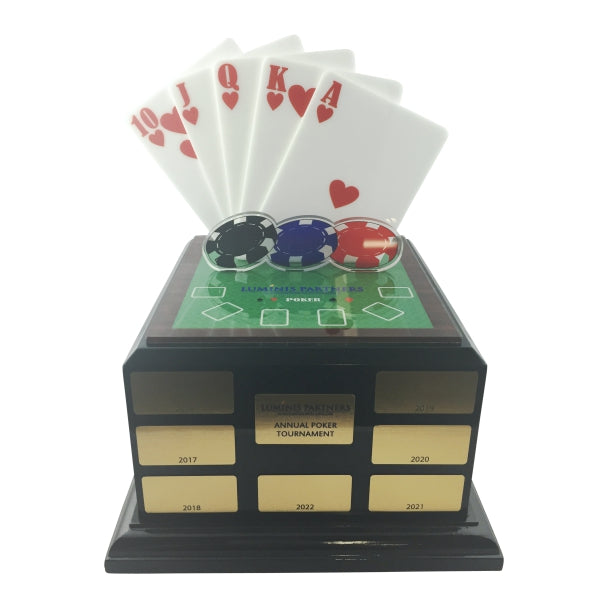 Poker Trophy; Poker Trophies