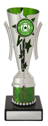 Dance Trophy - Gala Cup Green & Silver - D17-0302 - 183mm