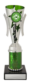Dance Trophy - Gala Cup - Green & Silver - D17-0303 - 208mm