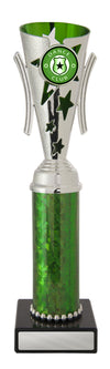 Dance Trophy - Gala Cup - Green & Silver - D17-0305 - 258mm