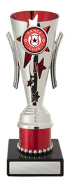 Dance Trophy - Gala Cup - Red & Silver - D17-0307 - 183mm