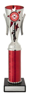 Dance Trophy - Gala Cup - Red & Silver - D17-0310 - 258mm