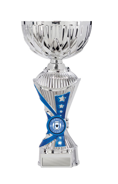 Dance Trophy - Alpha Click-Connect Cup - Blue - D17-1007 (210mm)
