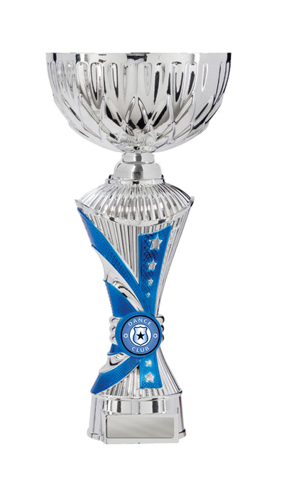 Dance Trophy - Alpha Click-Connect Cup - Blue - D17-1009 (260mm)