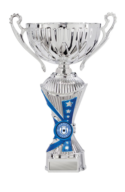 Dance Trophy - Alpha Click-Connect Cup with Handles - Blue - D17-1108 (250mm)
