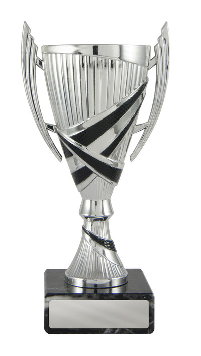 Bella Cup - Silver & Black - D17-1202 (160mm)