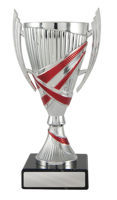 Bella Cup - Silver & Red - D17-1209 (180mm)