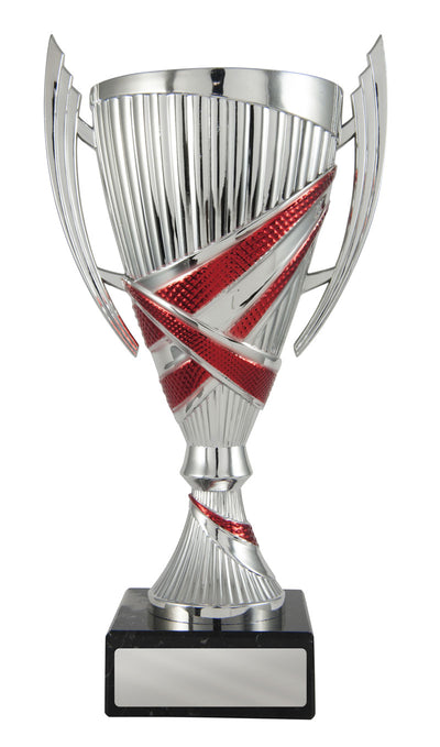 Bella Cup - Silver & Red - D17-1211 (255mm)