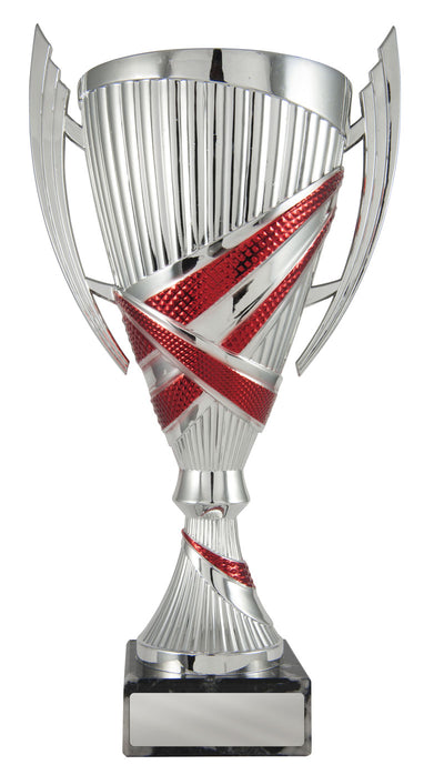 Bella Cup - Silver & Red - D17-1212 (305mm)