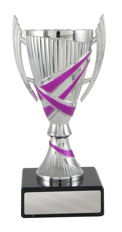 Bella Cup - Silver & Pink - D17-1313 (135mm)