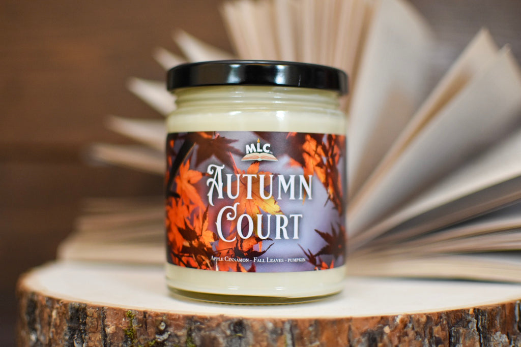 Autumn Court - Inspired by A Court of Thorns and Roses - Hand Poured - Soy Candle