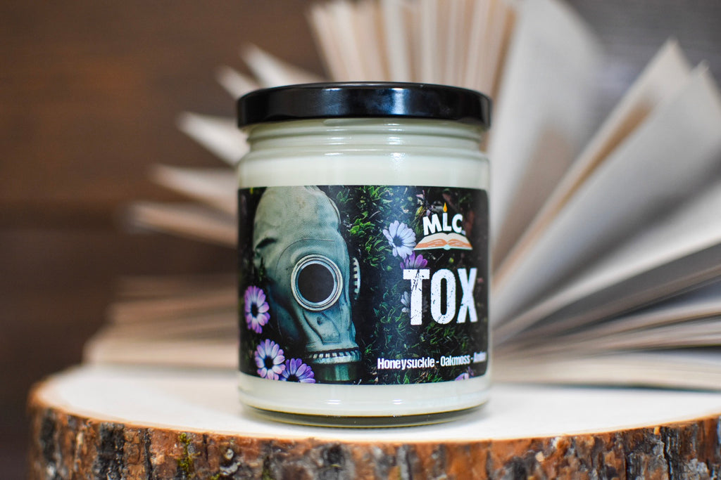 TOX - Hand Poured - Soy Candle