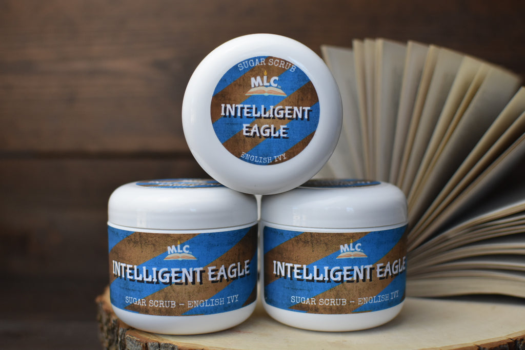 Intelligent Eagle - 4oz Sugar Scrub - With Shea Butter