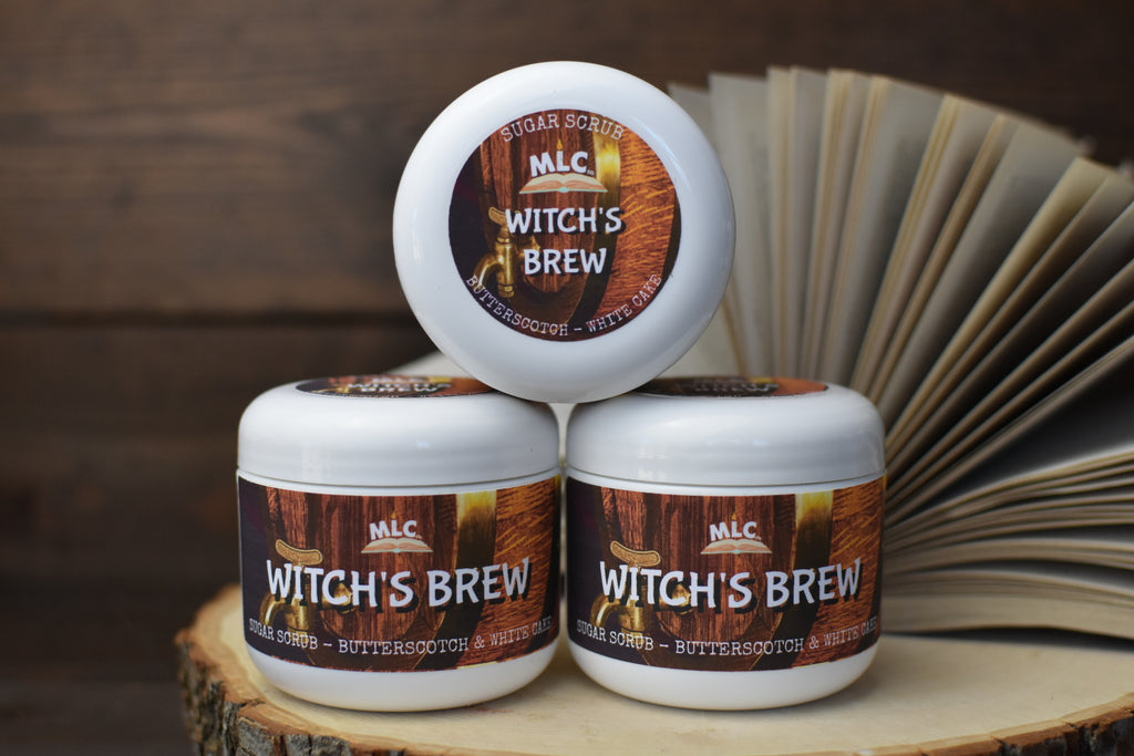 Witch's Brew - 4oz Sugar Scrub - With Shea Butter