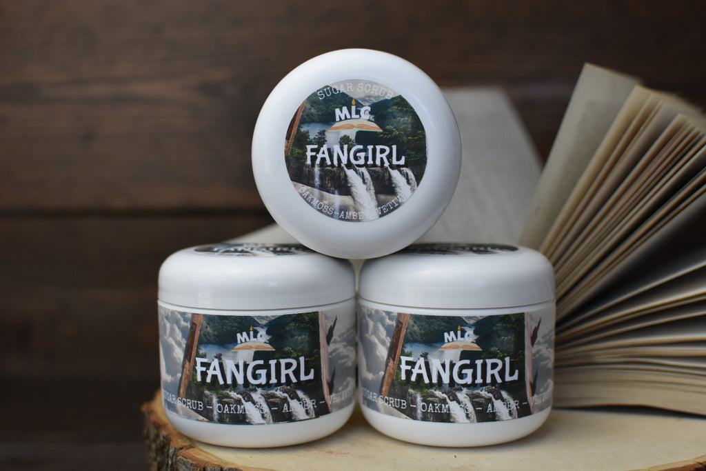 Fangirl - 4oz Sugar Scrub - With Shea Butter