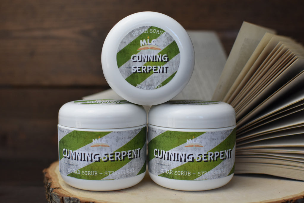 Cunning Serpent - 4oz Sugar Scrub - With Shea Butter
