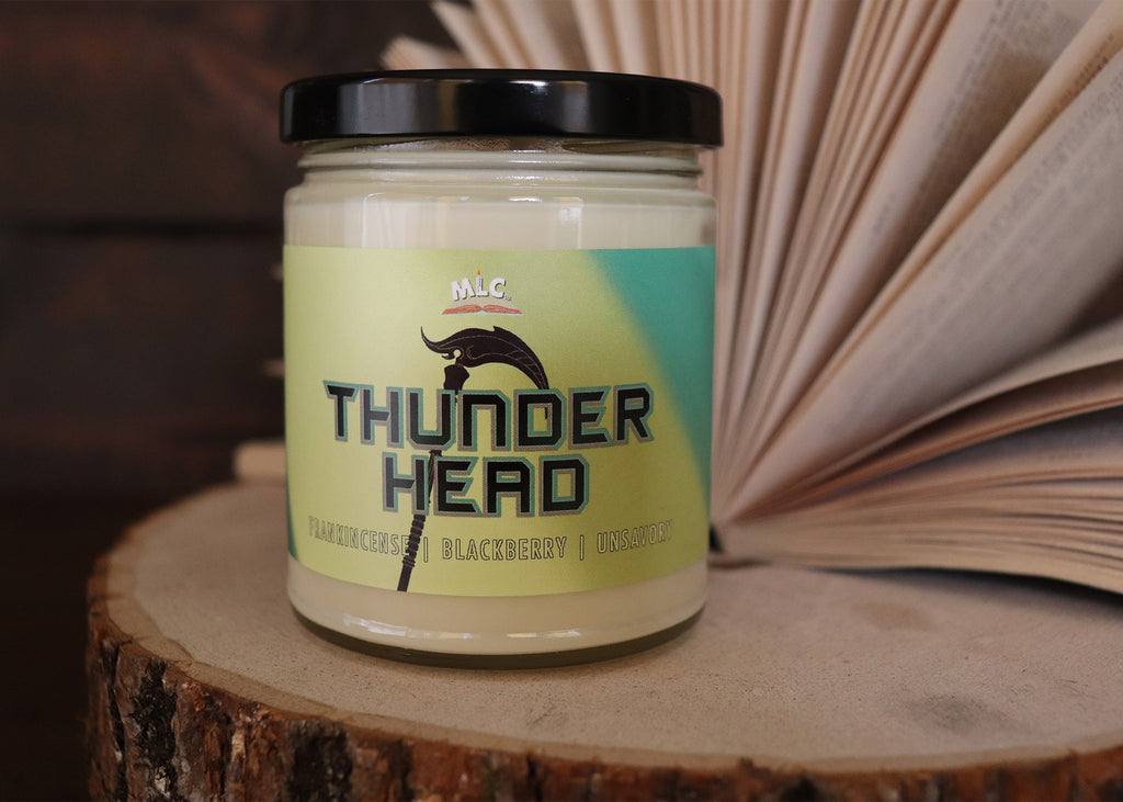 Thunder Head - inspired by Thunderhead - Hand Poured - Soy Candle