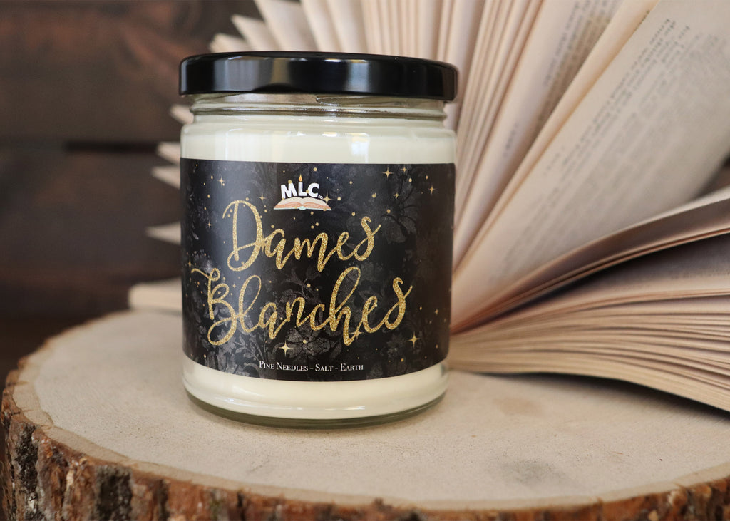Dames Blanches - inspired by Serpent and Dove - Hand Poured - Soy Candle